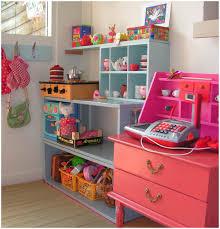 red play kitchen set interior design