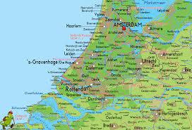 Holland Map Zuid Holland