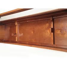 Glass Gun Cabinet Gun Display Cabinet Wall Mount Horizontal Case Rifle Shotgun