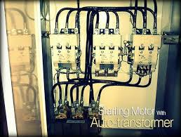 starting motor with auto transformer