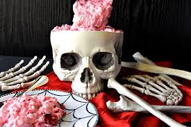 deliciously gory brain food jello fruit salad for halloween