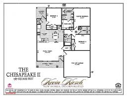 the chesapeake ii new homes springfield kevin kirsch homes