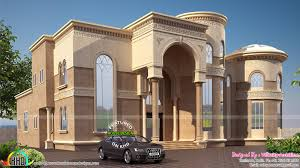 arabian model house elevation kerala home design and floor plans