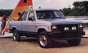 1986 ford ranger 4x4 history of the ford ranger ford rangers i