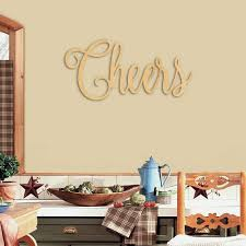 wedding backdrop sign large cheers cut name sign wood wall sign bar sign wedding
