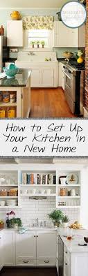 how to set up your kitchen how to set up your kitchen in a new home kitchen ideas
