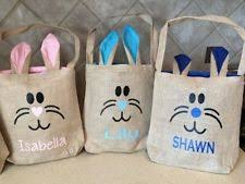 personalized easter buckets personalized easter basket ebay