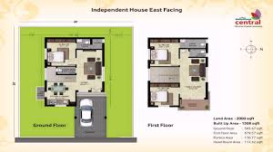 600 Sq Ft Floor Plans House Plan For 600 Sqft East Facing Youtube