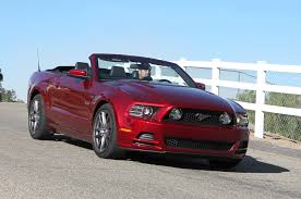 used 2013 mustang 5 0 2014 ford mustang gt convertible test motor trend