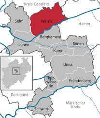 Map Of Germany With Cities And Towns In English by Werne Wikipedia