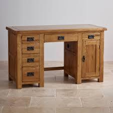 Polished Oak Desk Rustic Computer Desk For Sale Best Home Furniture Decoration