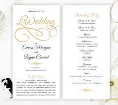 cheap wedding programs printed cheap wedding program simple programs for wedding
