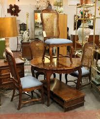 sold 295 set vintage antique set of six oak ladder back dining