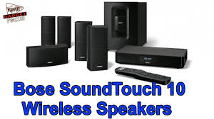 bose wireless home theater speakers bose launches soundtouch 10 wireless speaker youtube