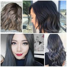 coloring hair gray trend name gray best hair color ideas trends in 2017 2018