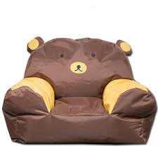 cute bean bag chairs free shipping 54 63 66 20cm cute bear beanbag sofa cover kids