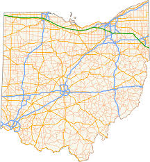 Milford Ohio Map by List Of State Routes In Ohio Wikipedia