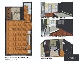 floor house with master bedroom with suite bathroom and walk in master bathroom with walk in closet floor plan