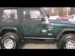 99 Jeep Wrangler Interior 1999 Jeep Wrangler Sport For Sale Youtube