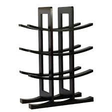 oceanstar 12 bottle bamboo countertop wine rack wr1149 the home