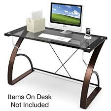 Z Line Designs Computer Desk Amazon Com Z Line Designs Bentwood Main Desk Brown Kitchen U0026 Dining