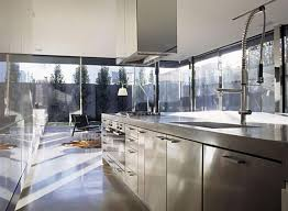 21 sleek and modern metal kitchen designs