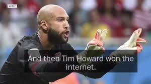 Tim Howard Memes - video the internet s best tim howard memes now trending tv