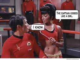 George Takei Oh My Meme - the captain kisses like a girl weknowmemes