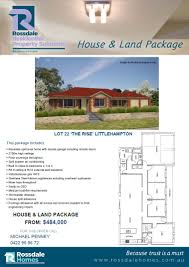Land Home Packages by Adelaide Hills House U0026 Land Packages The Rise Littlehampton