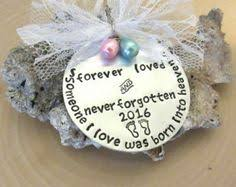 infant loss ornament pregnancy loss memorial ornament beautiful for earth child