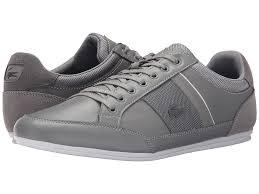 light grey mens shoes lacoste chaymon 116 1 men s lace up casual shoes light grey dark