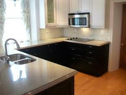 two tone kitchen cabinets brown and white home design ideas