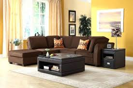 Black Microfiber Sectional Sofa With Chaise Us Pride Sierra Microfiber Sectional Sofa With Ottoman Right Black