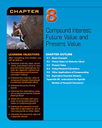 compound interest future value and present value chapter