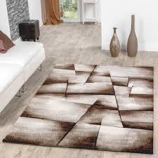 Wohnzimmer Beige Teppich Beige Braun Wohnzimmer Teppiche Madeira Karo