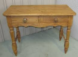 rustic pine writing desk victorian rustic pine writing desk side table wash stand 138512