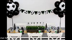 diy soccer party decorating ideas youtube