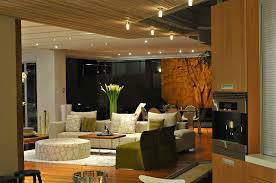 elegant apartment interior design with lush furniture also