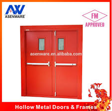 Double Swing 3 Hours Double Swing Fire Doors With Closers Buy Double Swing