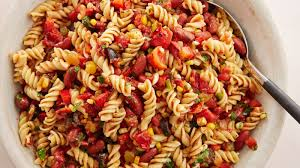 pasta slad spicy mexican pasta salad recipe tablespoon com