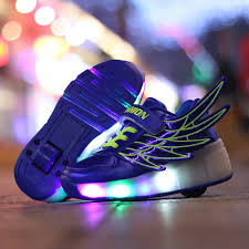 heelys light up shoes wholesale heelys children roller shoes with wheels kids led light up