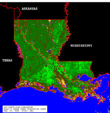 Louisiana vegetaion images Vegetation map gif