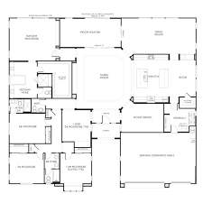 one story floor plan home design concept one story open floor plans single house