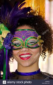 mardi gras masks for women woman wearing colorful mardi gras mask at universal studios