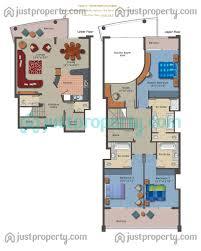 emerald residence floor plans justproperty com