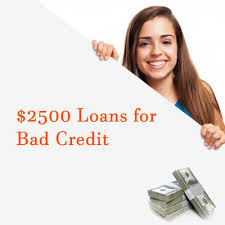 2500 loan no credit with guaranteed approval bad credit ok