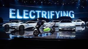 green cars at the frankfurt motor show 2017 greencarguide co uk