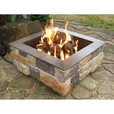patio ideas built in fire pit ideas built in gas fire pits fire