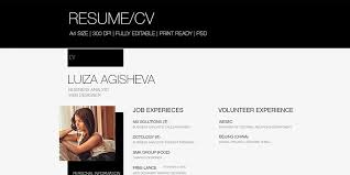 Free Cv Resume Ultimate Collection Of Free Resume Templates Css Author