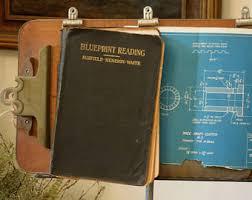 architectural blueprints for sale vintage blueprints etsy